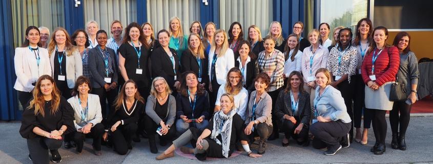 Pilotinnen in Wien beim Female Pilots WG Meeting